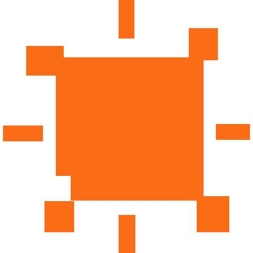 ông mặt trời da cam
