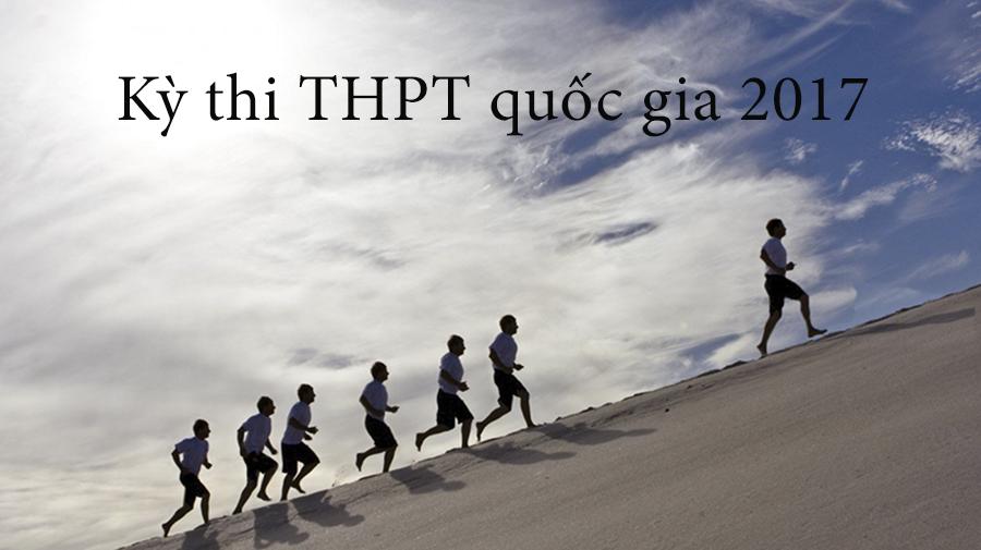 Thi THPT quốc gia năm 2017 từ ngày 22-24/6