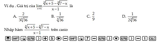 Giải sáu dạng Toán trắc nghiệm thường gặp bằng máy tính Casio