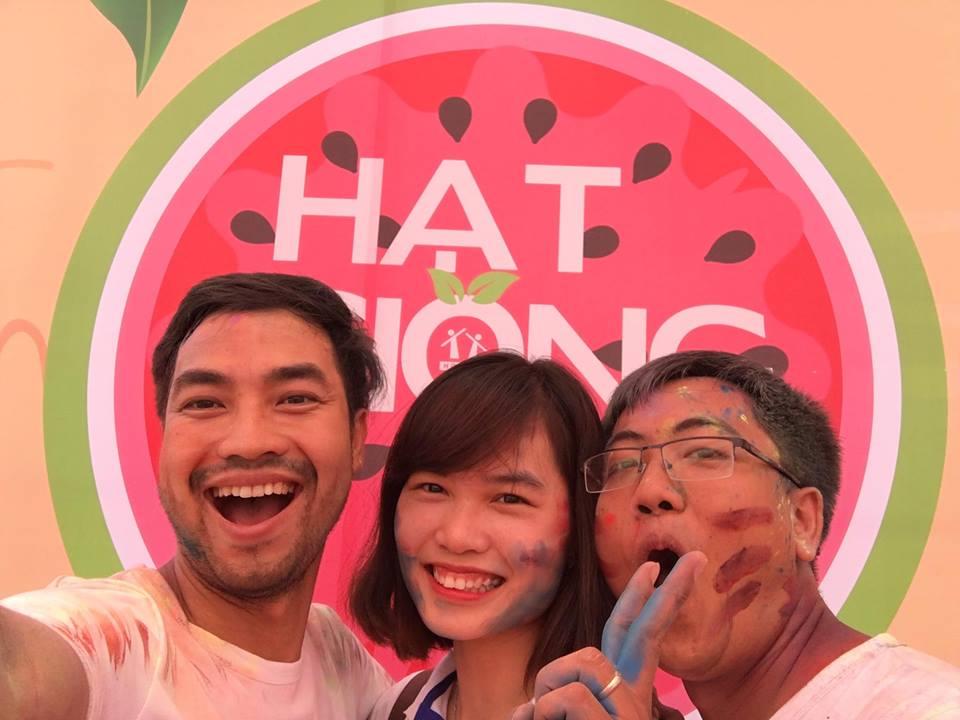 Thầy Nguyễn Thành Công, cô Hương Fiona và thầy Đinh Đức Hiền