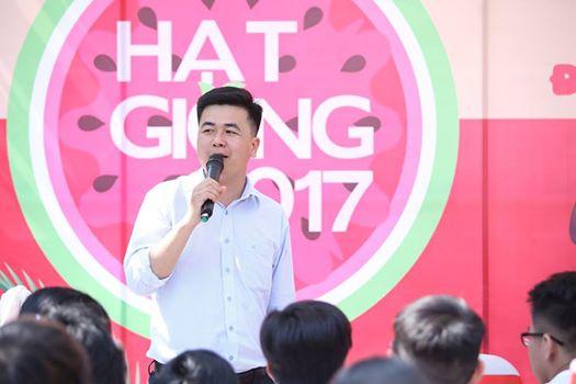 Thầy Lê Anh Tuấn tư vấn cách học hiệu quả trong giai đoạn nước rút trong sự kiện Hạt Giống 2017