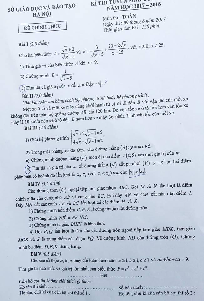 toán HN