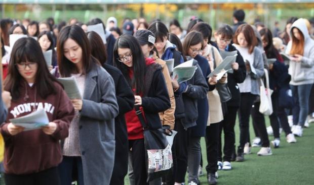 Sức ép thi cử học sinh Hàn
