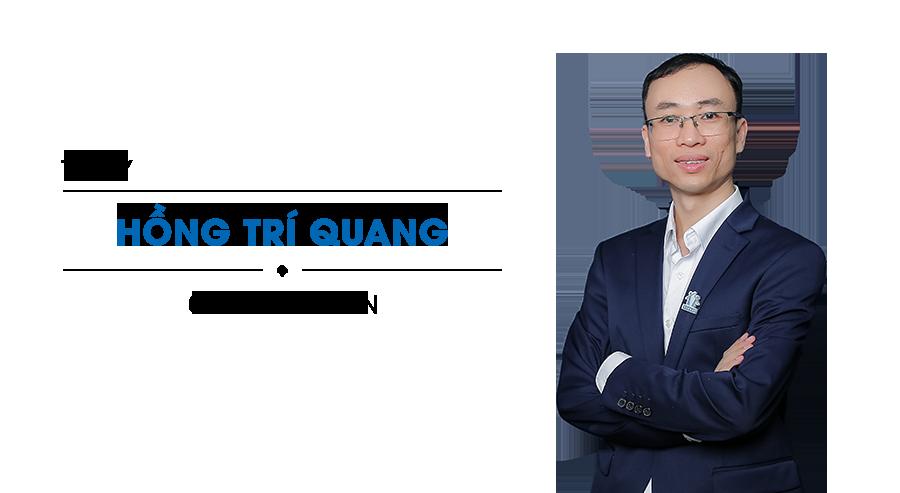 Thầy Hồng Trí Quang từ Hệ thống Giáo dục HOCMAI