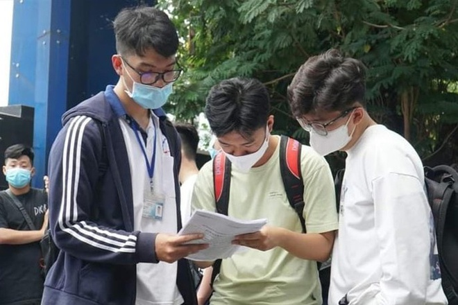 Thí sinh tham gia kỳ thi đánh giá năng lực của ĐH Quốc gia TP.HCM n